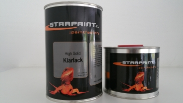4,5 Liter Set High Solid Brilliant Klarlackpaket  incl. Härter